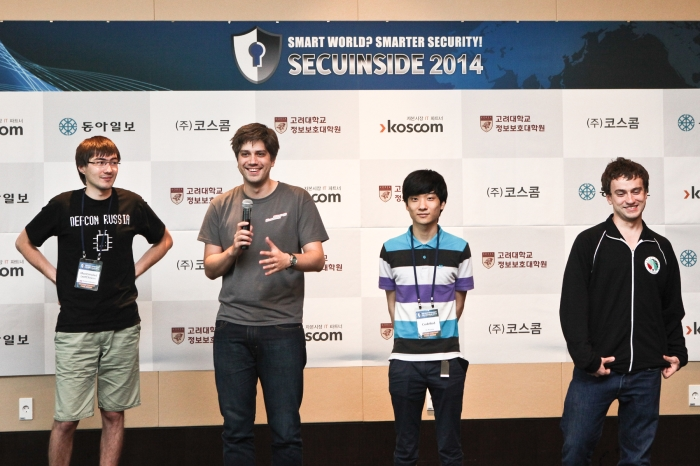 The title for world's No.1 white hacker goes to a team from the United States.