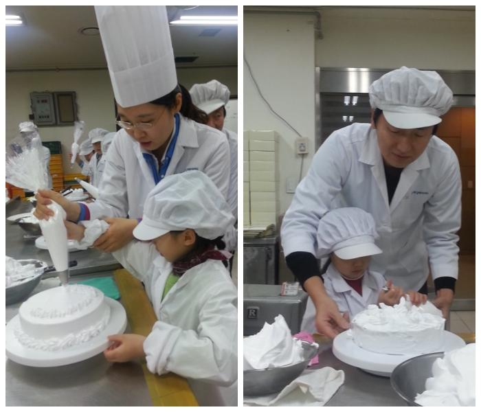12월 6일 코스콤 임직원 11가정이 '케익 만들기' 봉사활동에 참여했습니다.